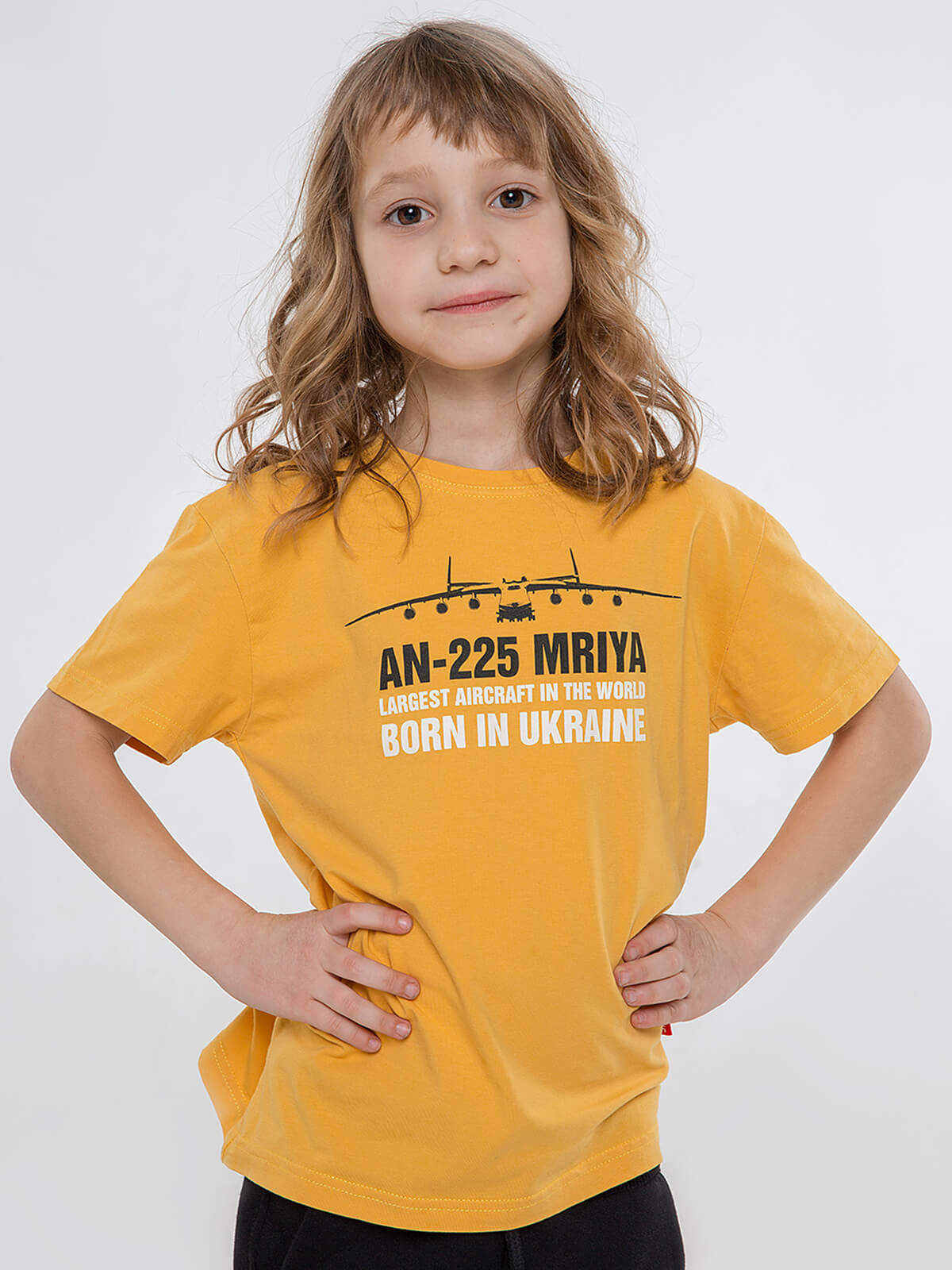 Дитяча Футболка Мрія. Колір жовтий. Футболка: унісекс, добре пасує і хлопцям, і дівчатам.
