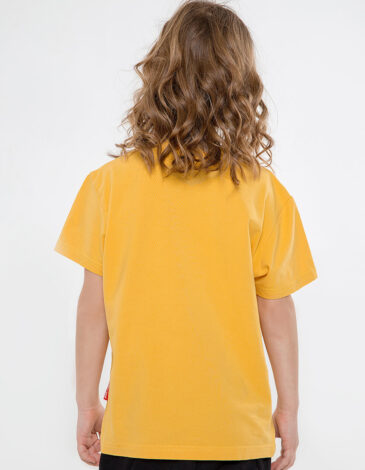 Kids T-Shirt Mriya. Color yellow. T-shirt: unisex, well suited for both boys and girls.