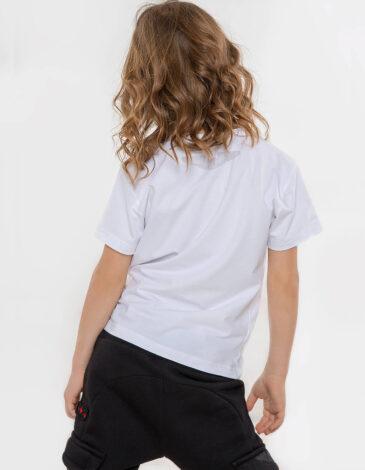 Kids T-Shirt Su-27. Color white. Material: 95% cotton, 5% spandex.