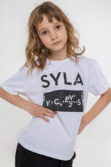 Kids T-Shirt Syla. Material: 95% cotton, 5% spandex.