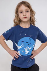 Kids T-Shirt Space. T-shirt: unisex, well suited for both boys and girls.