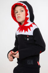 Kids Hoodie Jaws. Hoodie: unisex, well suited for both boys and girls.