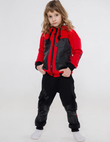 Дитячі Штани Syla. Колір чорний. Штани унісекс.