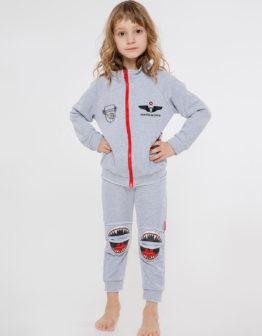 Kids Suit Shark. Color gray. Комплект: унісекс, добре пасує як на хлопцях, так і на дівчатах.