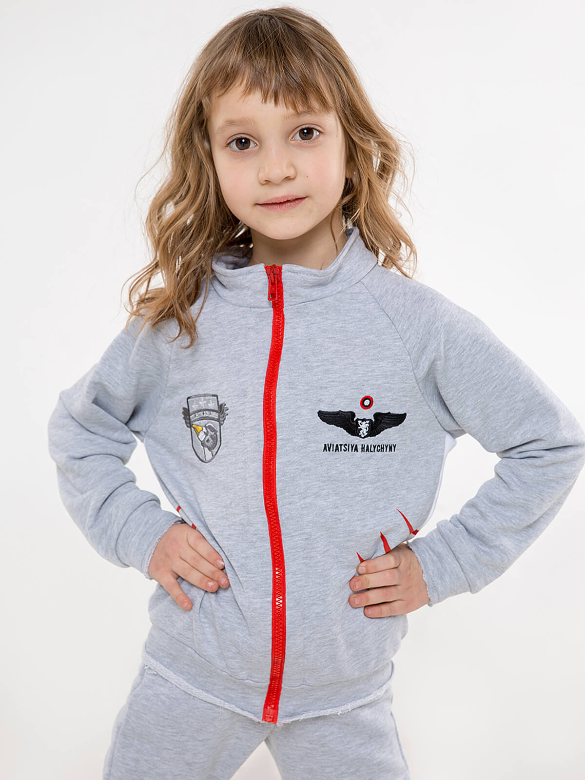 Kids Sport Suit Shark. Color gray. 5.