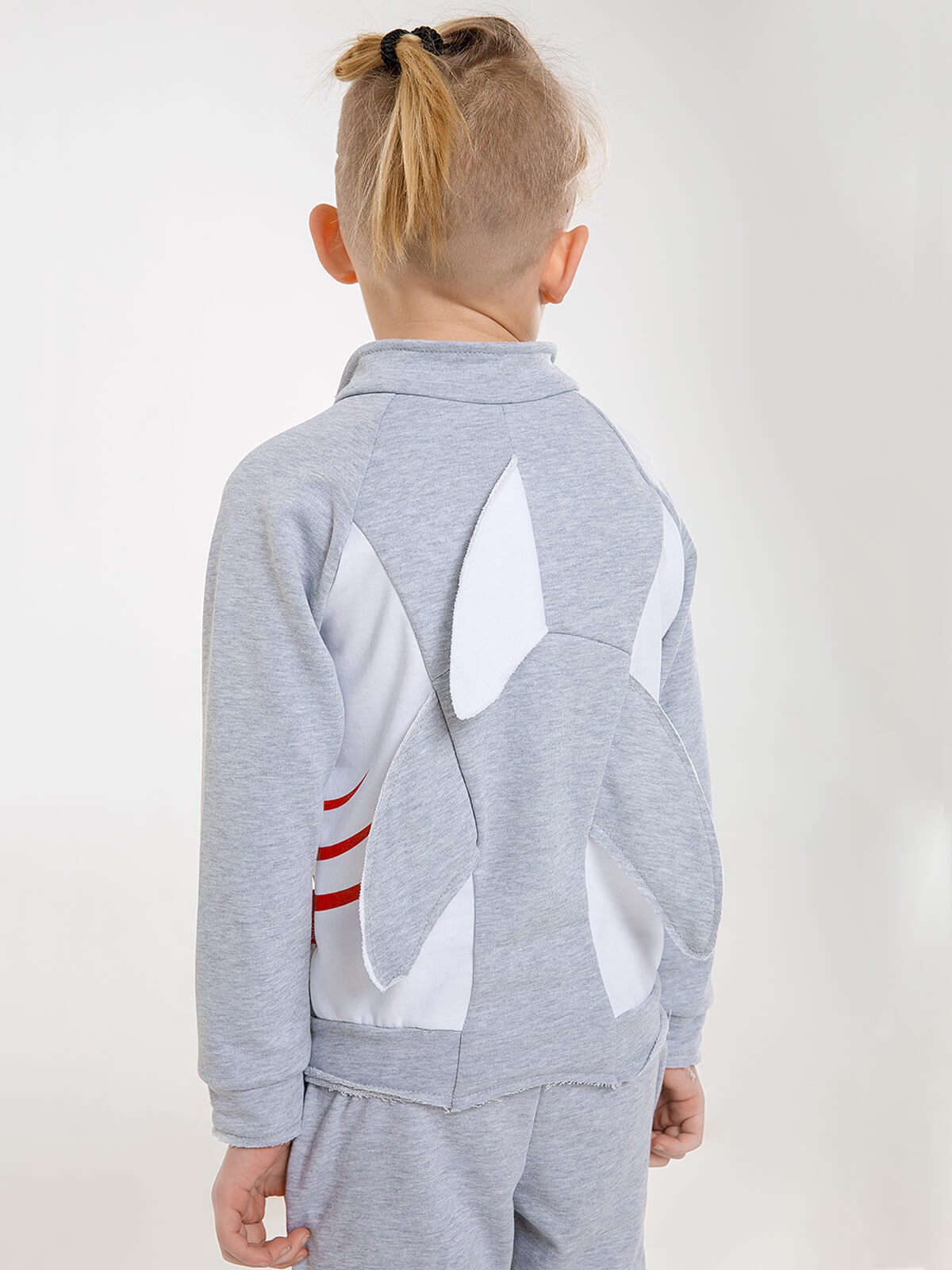 Kids Sport Suit Shark. Color gray. 4.