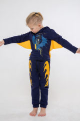 Kids Trousers Dragon. Pants: unisex, well suited for both boys and girls.