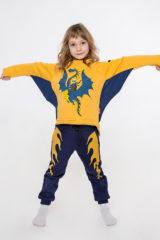 Дитячий Спортивний Костюм Дракон. Комплект: унісекс, добре пасує як хлопцям, так і дівчатам.