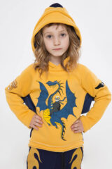 Kids Hoodie Dragon. Hoodie: unisex, well suited for both boys and girls.