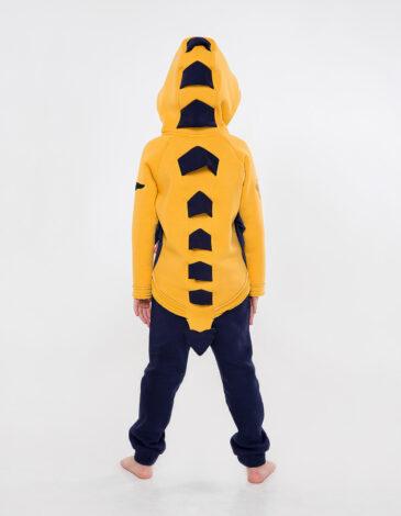 Дитячий Спортивний Костюм Дракон. Колір жовтий. Комплект: унісекс, добре пасує як хлопцям, так і дівчатам.