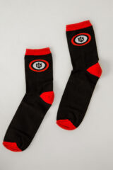Socks Roundel. Socks: unisex, well suited for both boys and girls.