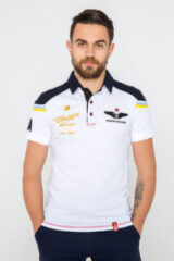 Men's Polo Shirt 100 Years Ua Aviation. Тканина піке: 100% бавовна.