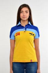 Women's Polo Shirt 114 Brigade (Ivano-Frankivsk). Тканина піке: 100% бавовна.