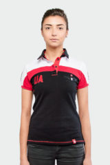 Women's Polo Shirt 114 Brigade. Pique fabric: 100% cotton.