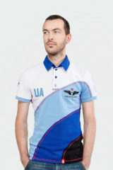 Men's Polo Shirt Baloon. Pique fabric: 100% cotton.