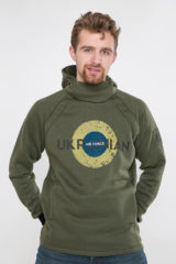 Men's Hoodie Ukrainian Air Force. Unisex hoodie (men's sizes).