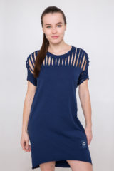 Women's Dress Hannusia. Material: 95% cotton, 5% spandex.