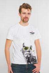 Men's T-Shirt Owl. Unisex T-shirt (men's sizes).