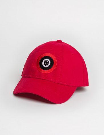 Кепка Рондель. Колір червоний.  Матеріал: 100% котон.