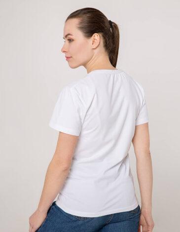 Жіноча Футболка Зозуля. Колір білий. Цей продукт наявнийВ ОСТАННІХ ЕКЗЕПЛЯРАХі більшеВИГОТОВЛЯТИСЬ НЕ БУДЕ.