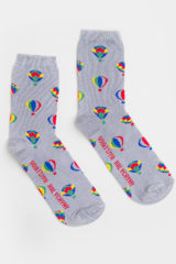 Socks Baloon. Material: 95% cotton, 5% elastane.