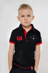 Kids Polo Shirt 12 Brigade (The Dragon Slayer). Pique fabric: 100% cotton.