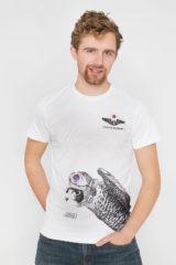 Men's T-Shirt Falcon. Unisex T-shirt (men's sizes).