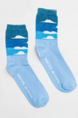 Socks Clouds. Material: 95% cotton, 5% elastane.