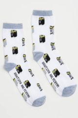 Socks Owl. Socks: unisex Material: 95% cotton, 5% spandex.