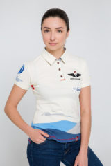 Women's Polo Shirt D'arrigo. Pique fabric: 100% cotton.