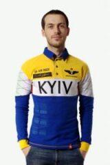 Men's Polo Long Air Race Kyiv. Цей продукт наявний В ОСТАННІХ ЕКЗЕПЛЯРАХ і більше ВИГОТОВЛЯТИСЬ НЕ БУДЕ.