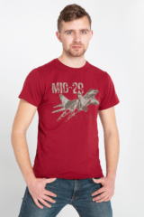Men's T-Shirt Mig-29. Unisex T-shirt (men's sizes).