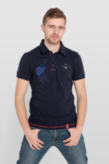 Men's Polo Shirt 12 Brigade (Kalyniv). Pique fabric: 100% cotton.