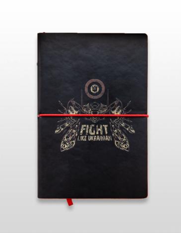 Notebook Flu. Color black. .