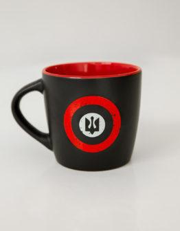 Cup Rondel. Color black. Матеріал: кераміка  Об'єм: 350 мл.