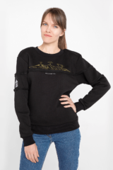 Women's Sweatshirt Marmarosy. Unisex sweatshirt (men's sizes).