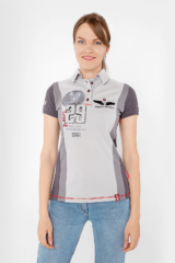 Women's Polo Shirt 114 Brigade (Mig-29). Pique fabric: 100% cotton.