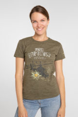 Women's T-Shirt 16 Brigade. Material: 95% cotton, 5% spandex.
