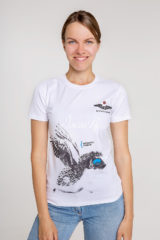 Women's T-Shirt Hedgehog. Unisex T-shirt (men's sizes).