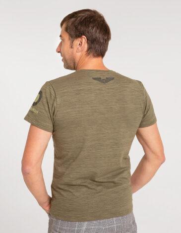 Men's T-Shirt 16 Brigade. Color khaki. Material: 95% cotton, 5% spandex.