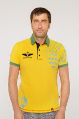 Men's Polo Shirt Balloon. Pique fabric: 100% cotton.