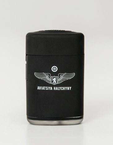 Lighter Aviation. Color black. Size: 3,5х6х2 Material: metal.