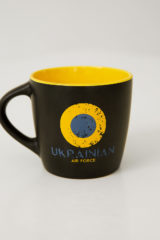 Cup Uaf. Material: ceramics Volume: 350 ml.