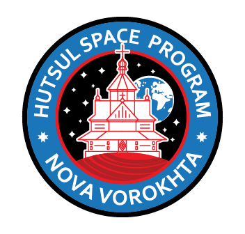 Лого HUTSUL SPACE PROGRAM