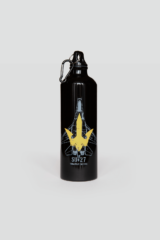 Flask Su-27. Volume: 800 ml Material: metal  Wash the flask from the inside before using; ● Image applying technique — cold decal.