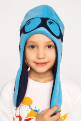 Kids Hat Pilot. Hat: unisex, well suited for both boys and girls.