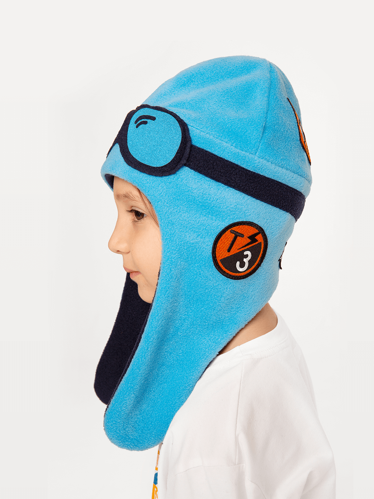 Kids Hat Pilot. Color sky blue.  The color shades on your screen may differ from the original color.