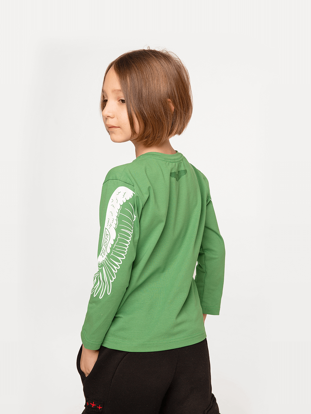 Kids Long Sleeves Stork. 2.
