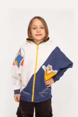 Kids Hoodie Squirrel. Hoodie: unisex, well suited for both boys and girls.