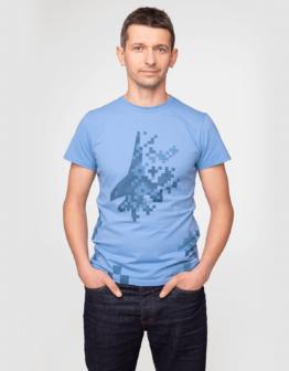 Men's T-Shirt 831 Brigade. Color sky blue. Футболкаунісекс(розміри чоловічі).